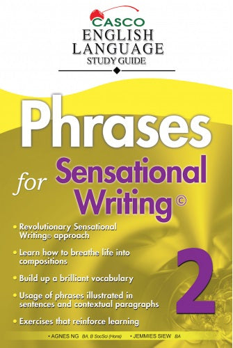 Primary 2 Phrases For Sensational Writing