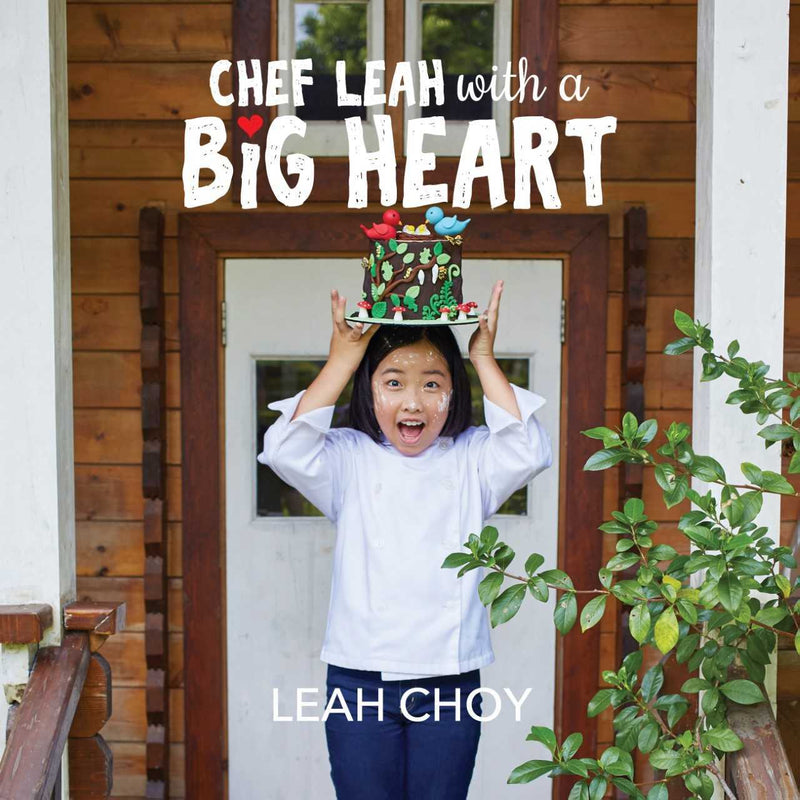 Chef Leah with a Big Heart
