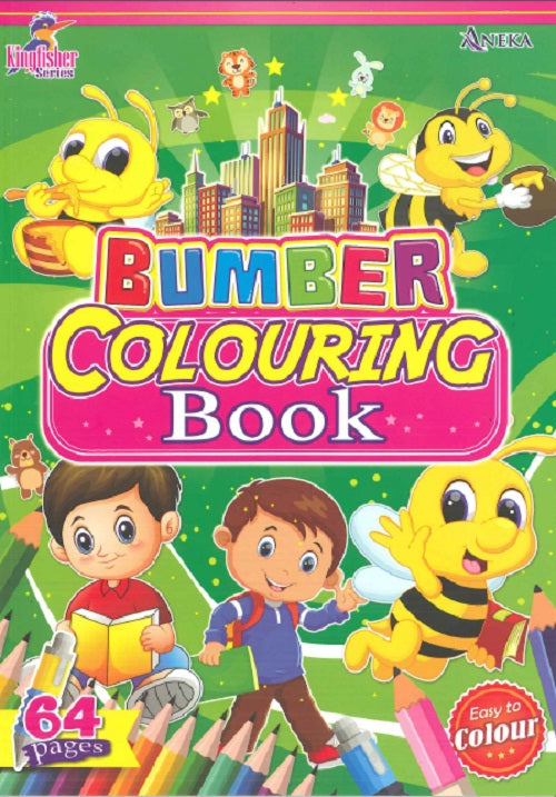 KINGFISHER SERIES (COLOURING BOOK) BUMBER COLOURING