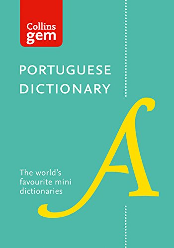 Collins Portuguese Dictionary (Collins Gem) (English and Portuguese Edition) (Eight Edition)