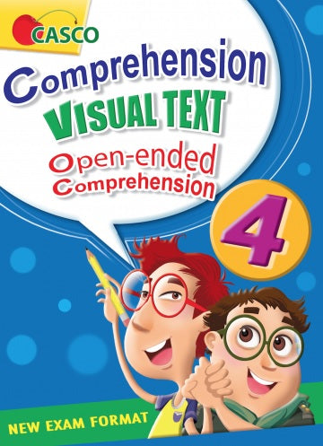 Primary 4 Comprehension Visual Text Open-Ended Comprehension