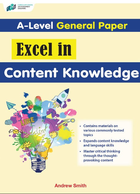 A-Level General Excel In Content Knowledge