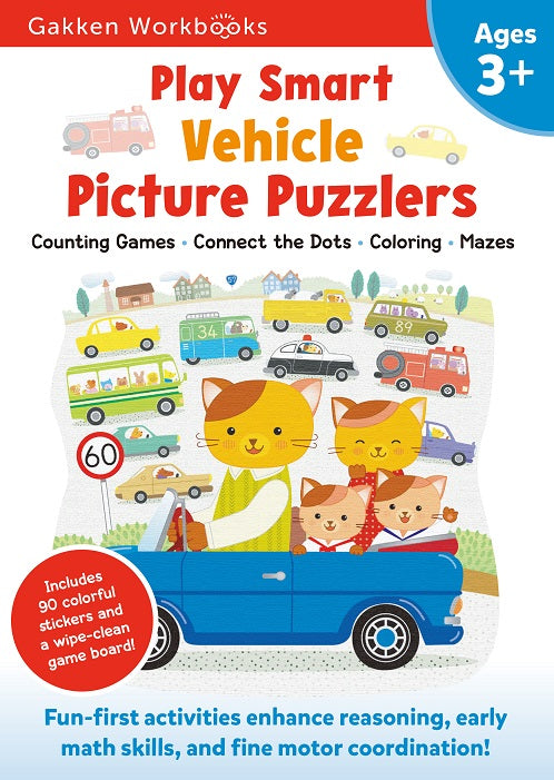 Play Smart Vehicle Picture Puzzlers Ages 3+