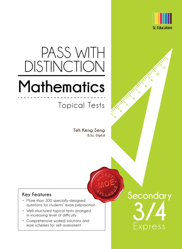 Pass With Distinction Mathematics (Topical Tests) Secondary