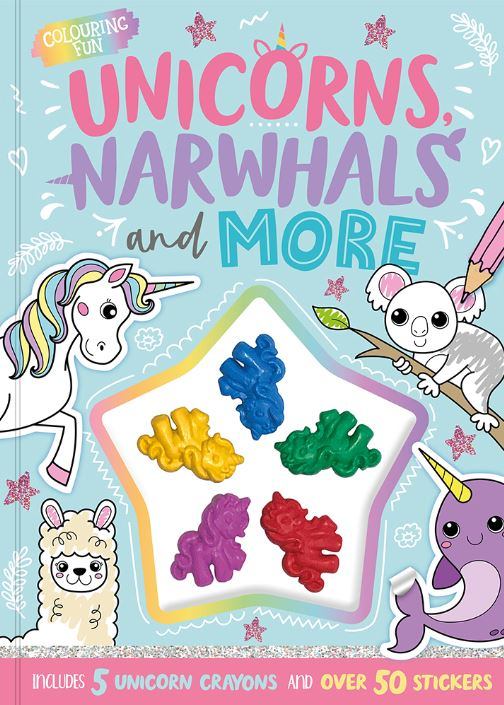 UNICORNS,NARWHALS AND MORE