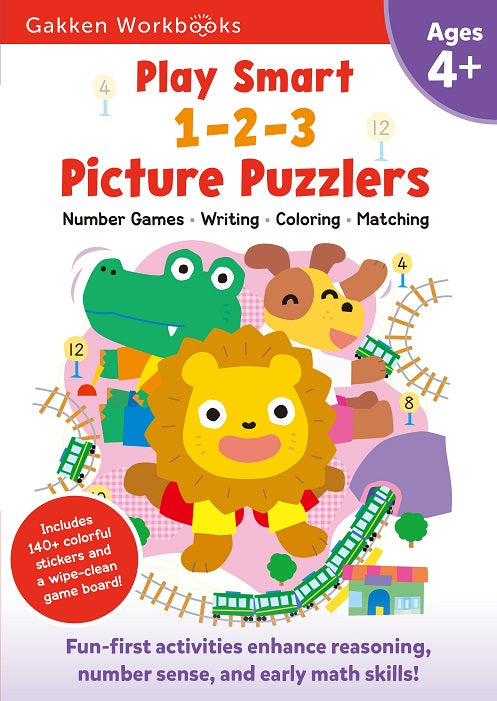 PLAY SMART 1-2-3 PICTURE PUZZLERS AGES 4+