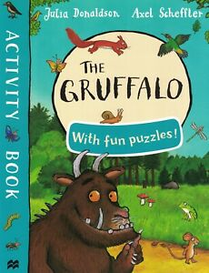 THE GRUFFALO ACTIVITY BOOK WITH FUN PUZZLES!