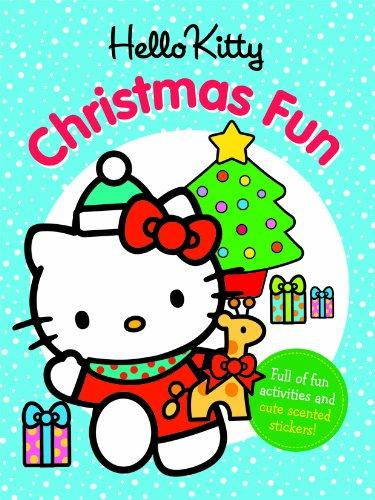 Hello Kitty Christmas Fun: With Scented Christmas Stickers