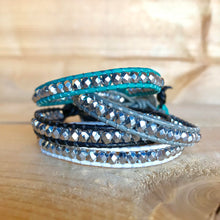 Load image into Gallery viewer, Leather Wrap Bracelet - Single - Each Bracelet Sold Separately