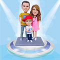 Custom Bobblehead - Personalized Bobblehead Made From Your Photos