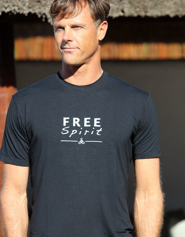 Black-Free-Spirit-Mens-T-Shirt-MTS003