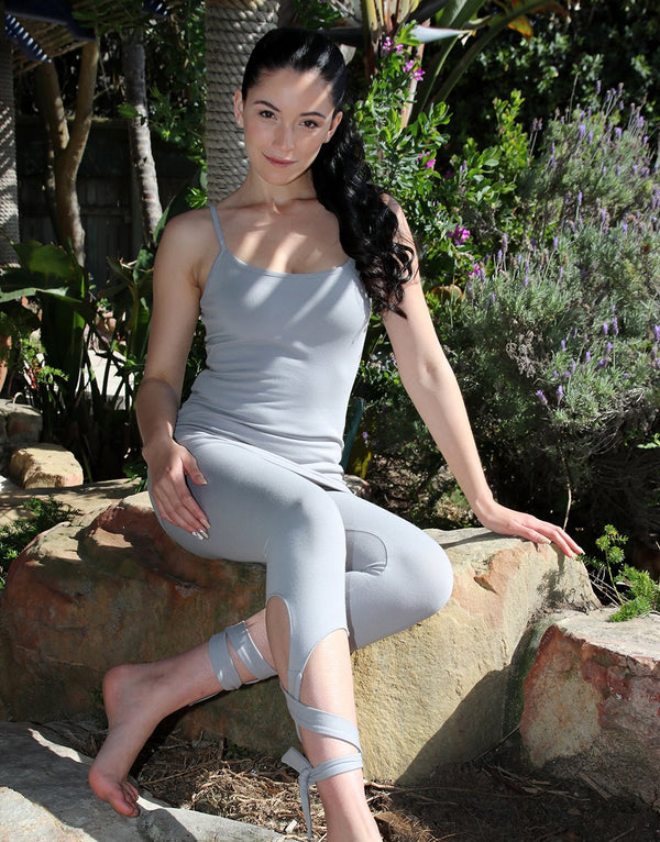 Silver-Ribbon-Leggings-with-Ties-PT037