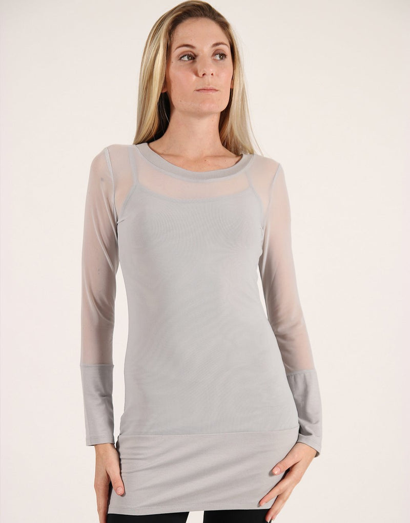 Silver-Mesh-Long-Sleeve-Top-TL068