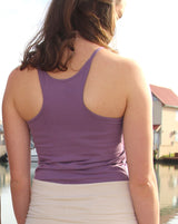 Racer Back Vest with Built in Bra