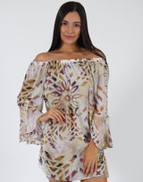 Ethnic-Off-the-Shoulder-Dress-AC358
