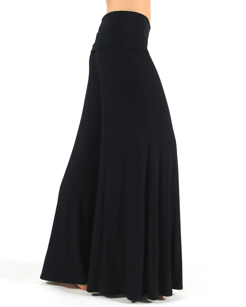 Black-Viscose-Palazzo-Pants-Longer-Length-PL060