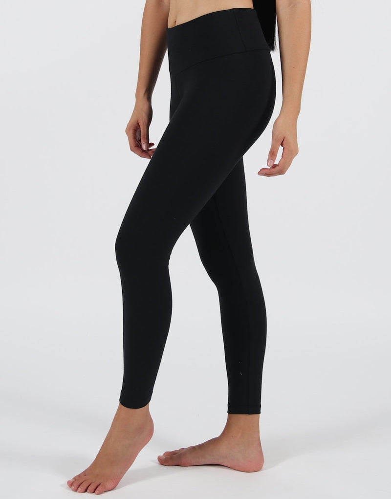 Black-High-Rise-Leggings-(Cotton-Rich)-PL125