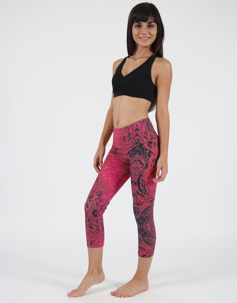 Alligator-Bodysculpt-Leggings-3/4-Length-PT326