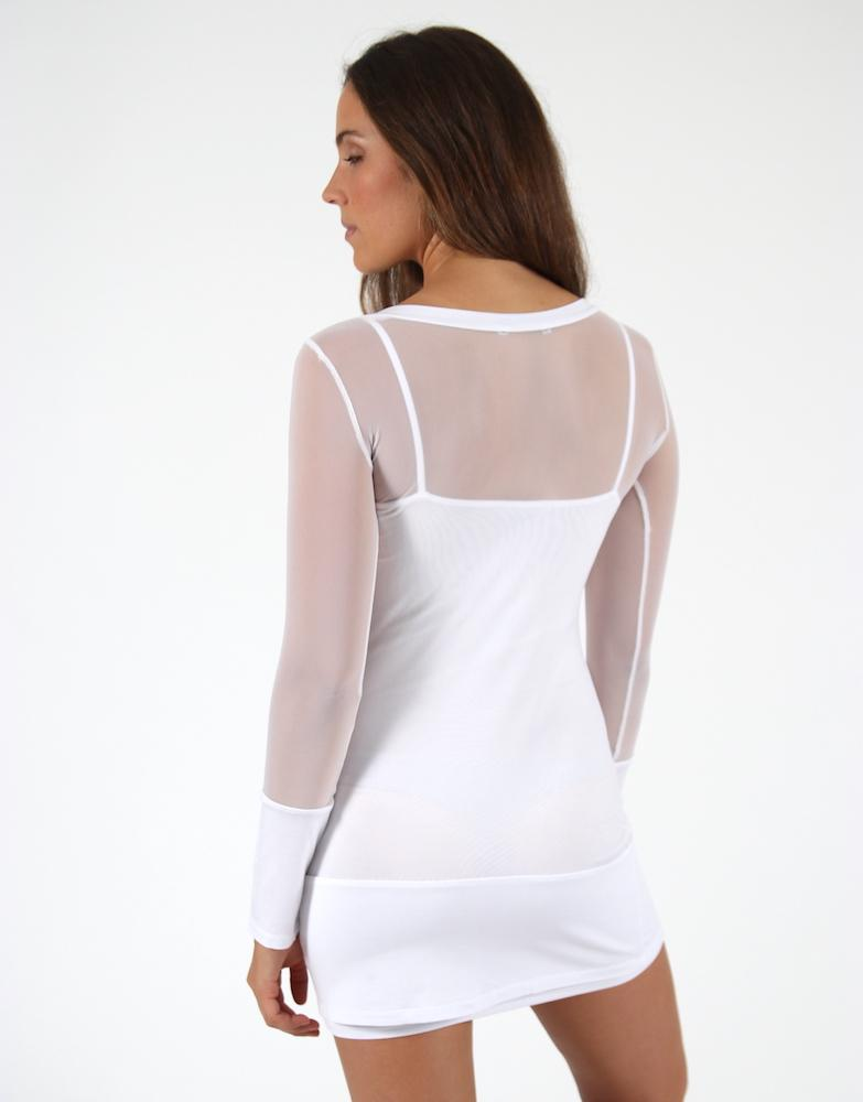 White-Mesh-Long-Sleeve-Top-TL068