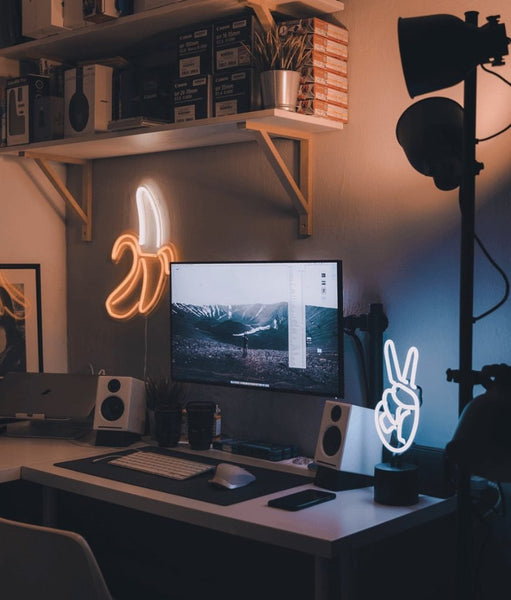 creative wall lamp for home office