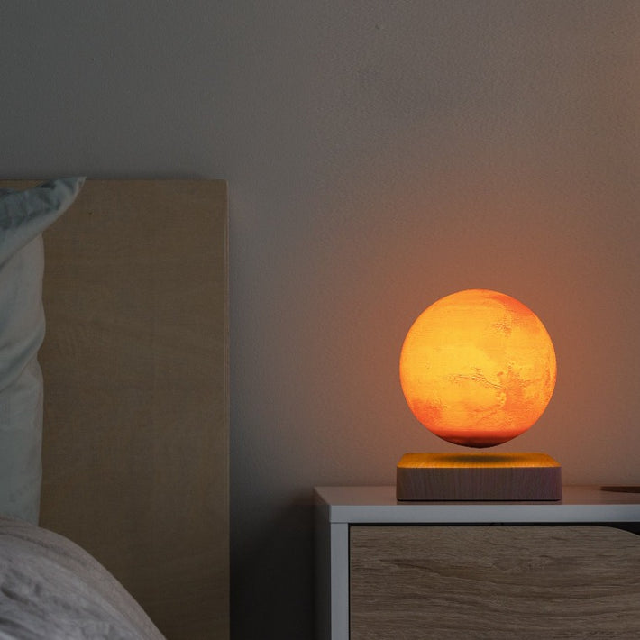 Levitation Mars Lamp, 3D Print Floating Mars