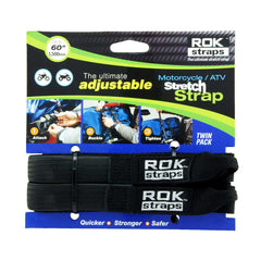 Rok Strap 25mm Black - Saltire Motorcycles