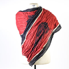 Indian Headdress Linen Scarf - Saltire Motorcycles