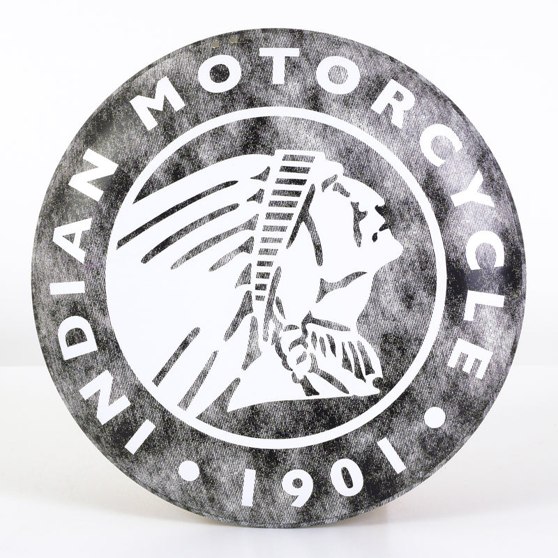 Indian Circle Icon Logo Sign - Saltire Motorcycles