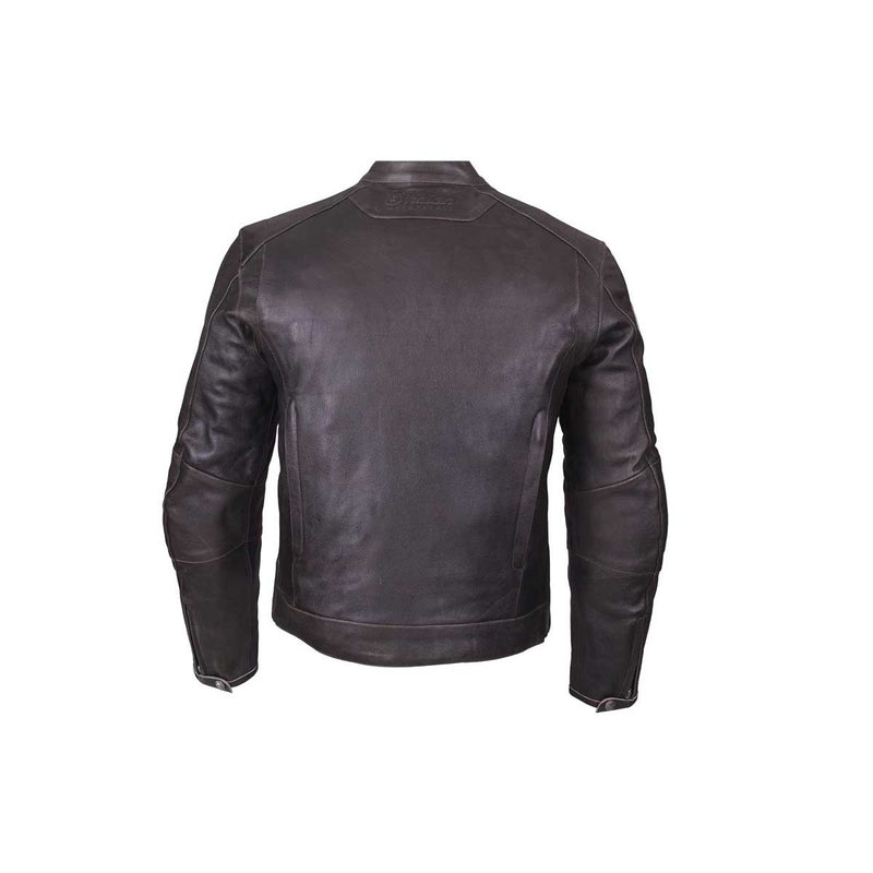 Indian Rocket Brown Leather Jacket