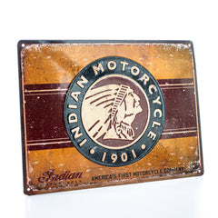 Indian First Motorcycle Sign - Saltire Motorcycles