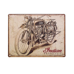 Indian Antique Sign - Saltire Motorcycles