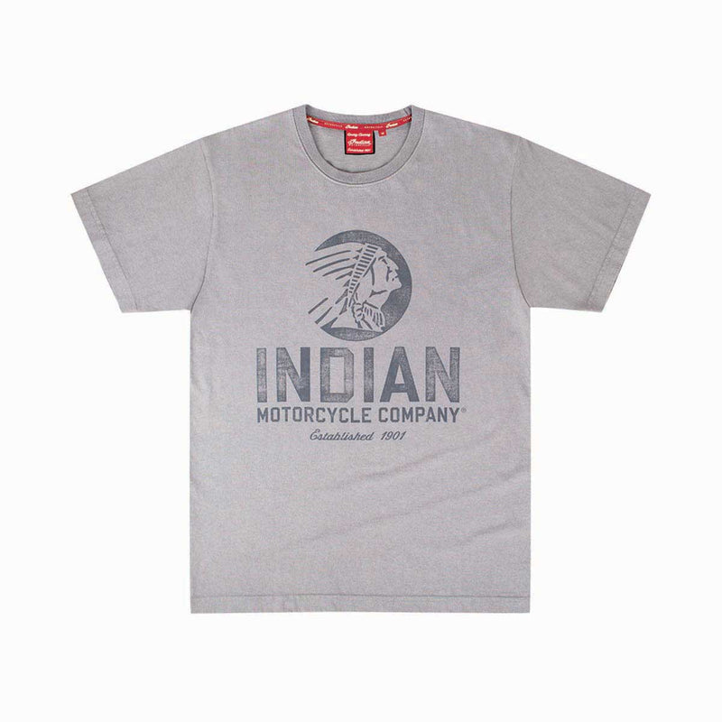 Indian Circle Icon T-Shirt - Saltire Motorcycles