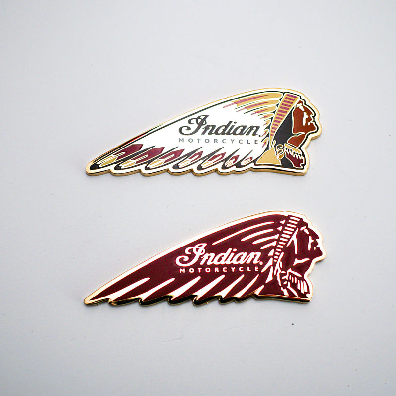 Indian Headdress Magnet - Set of 2 - Saltire Motorcycles