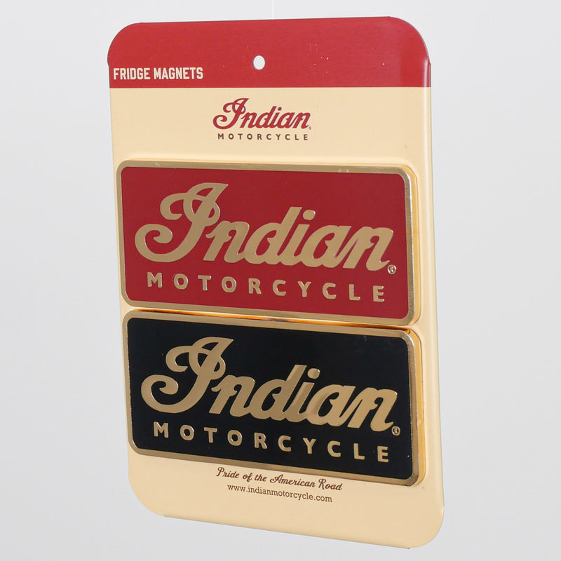 Indian Script Magnet - Set of 2 - Saltire Motorcycles