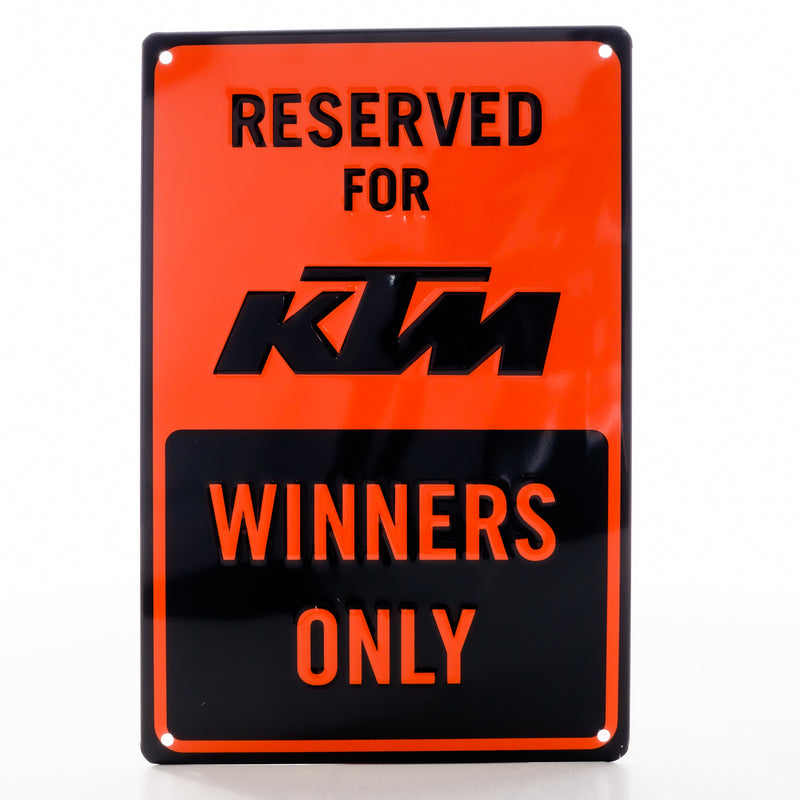 KTM Parking Plate - Saltire Motorcycles