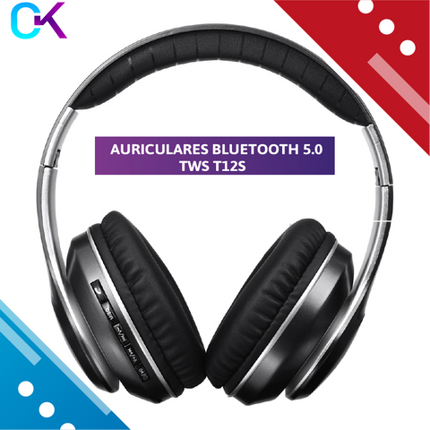 Bluetooth Headphones Over Ear Folding Wireless