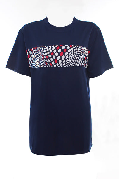 Adult-Dreamlike Polka Dot Printed Tee