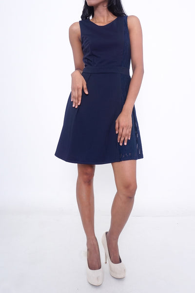 Channel Fit & Flare Dress