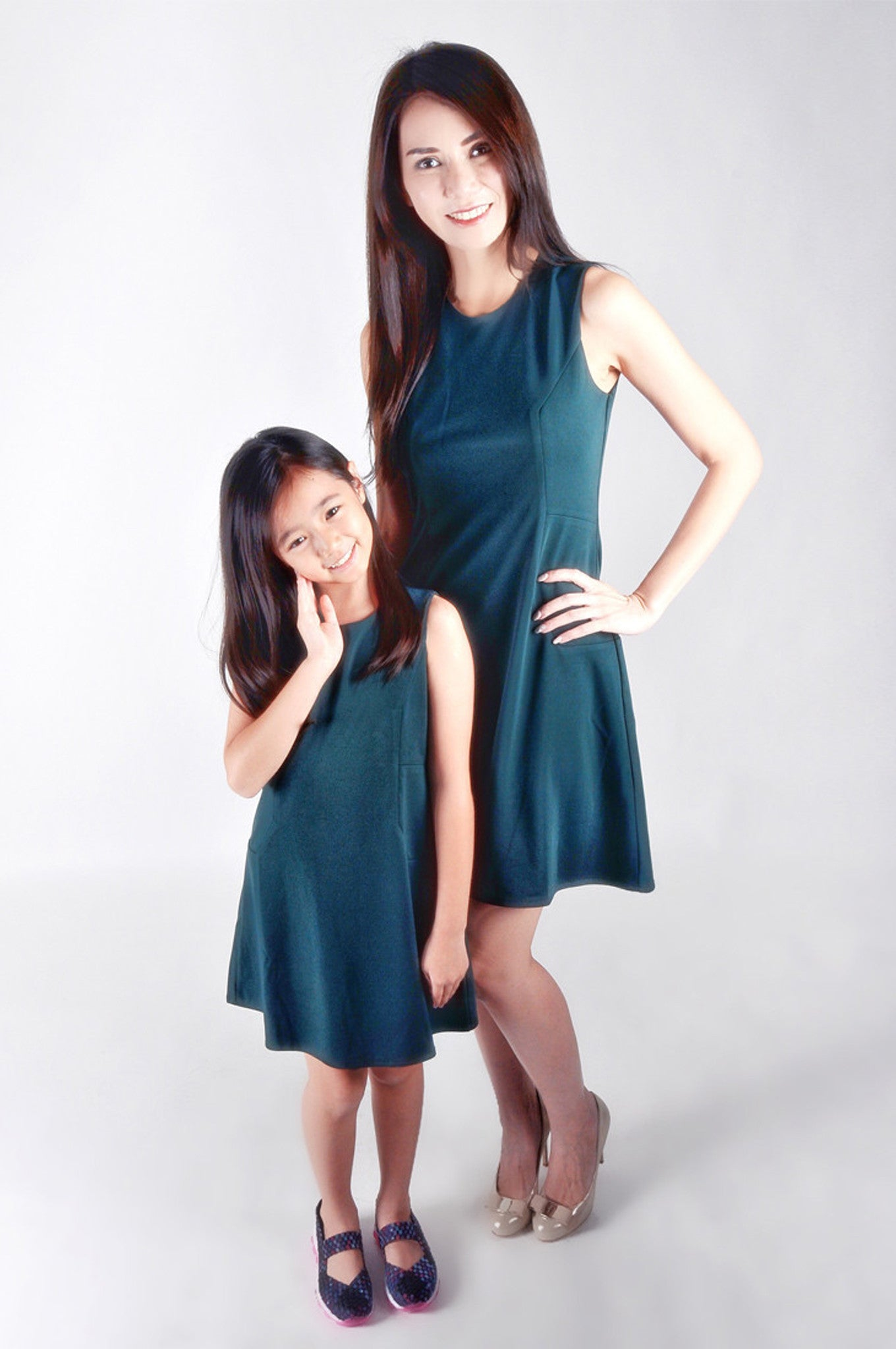 Kids Pine-line Sleeveless Dress