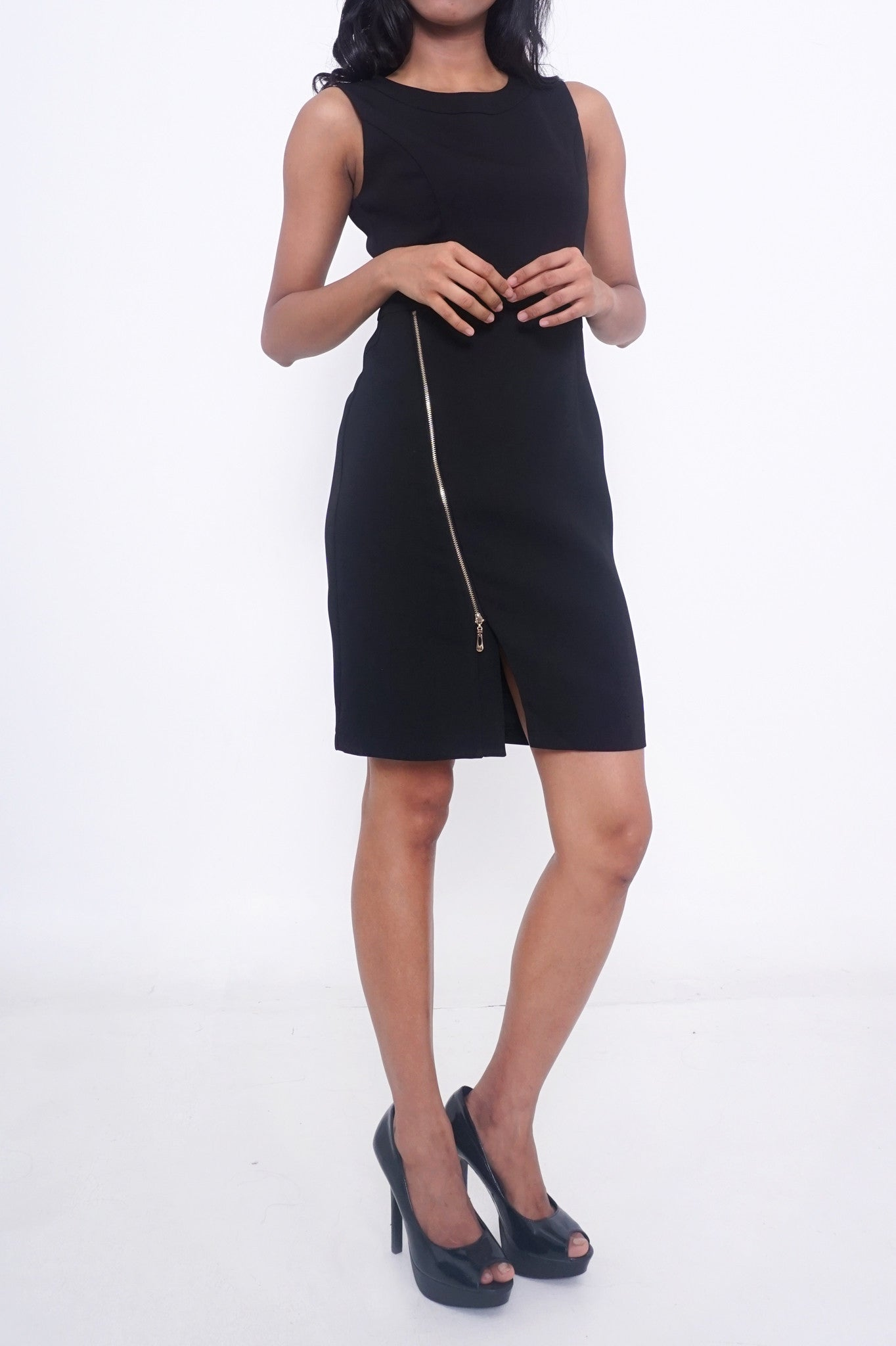 Rosie Side Zipped Work Dress