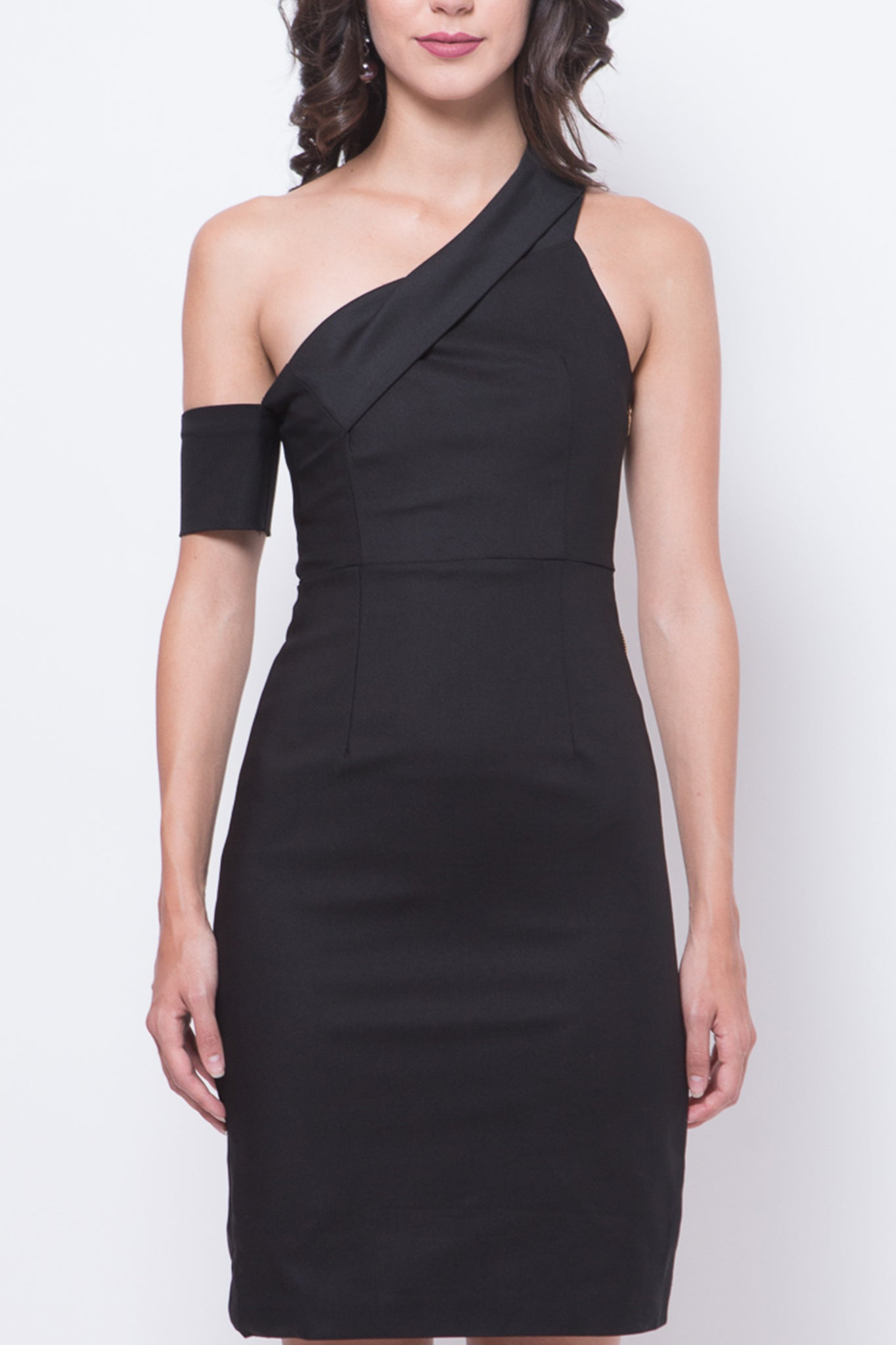 Glitter Glam Laura Dress (Black)