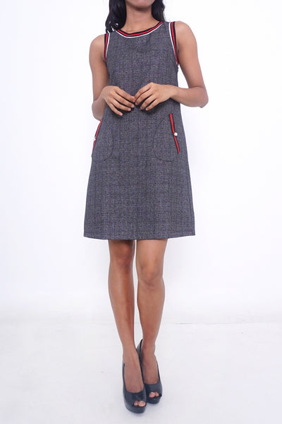 Selina Houndstooth Work Dress