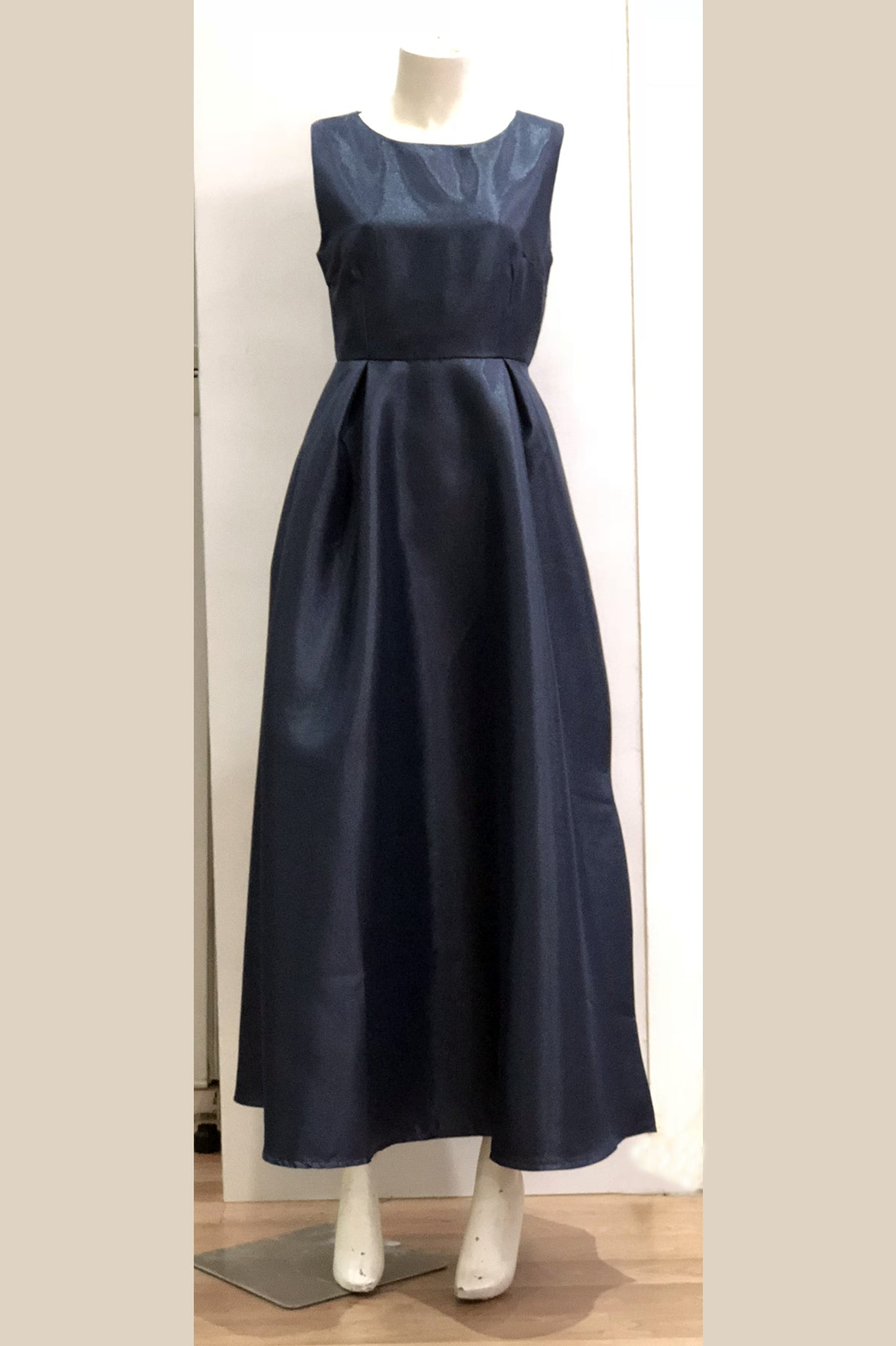 Dinner Dress (Navy Blue)