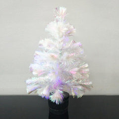 Christmas Tree with Lighting (White) - 40cm