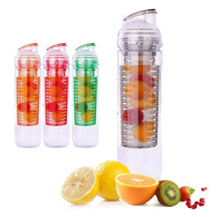 Fruit Fuzer Infusion Infusing Infuser Water Bottle Sport Health Maker (900ml)