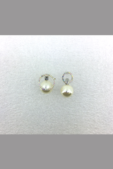 LOVELY SMALL DIMOND WITH PEARL