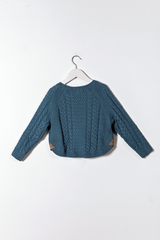 Long Sleeve Wool Sweaterknit