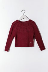 Wool Sweaterknit (Front/back york with lurex)