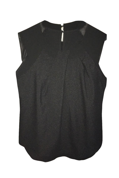 Jeanette Mesh Sleeveless Top