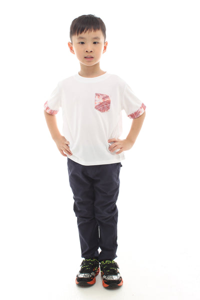 Lucky Feather Print Family Outfit By MHALL (BOY)